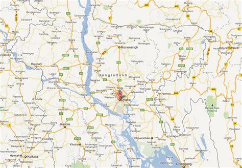 Dhaka Map