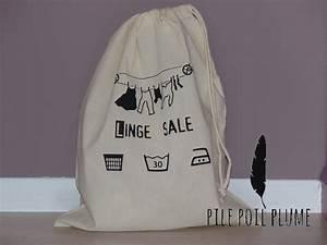Sac à Linge Sale : sac de voyage linge sale pour valise home sweet home ~ Dailycaller-alerts.com Idées de Décoration