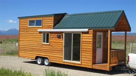 spacious tiny house living  richs portable cabins
