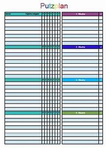 Haushalt Organisieren Plan Vorlage : 16 besten putzplan bilder auf pinterest sauberkeit haushalt organisieren und ordnungsliebe ~ Buech-reservation.com Haus und Dekorationen