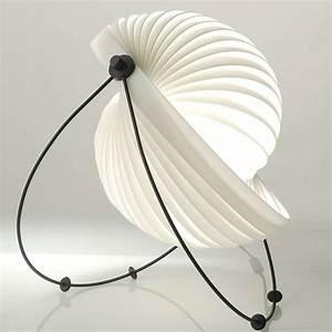 Lampe A Poser Design : eclipse lampe a poser objekto blanc lampe poser ~ Preciouscoupons.com Idées de Décoration