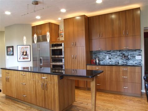 sofa for small doorway teak kitchen cabinets kitchen modern with cherry wood