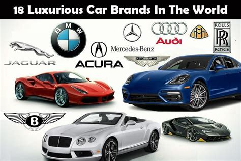 Luxurious Car Brands  18 Luxury Car Brands In The World
