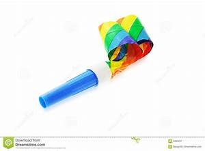 Party blower stock image. Image of party, paper ...