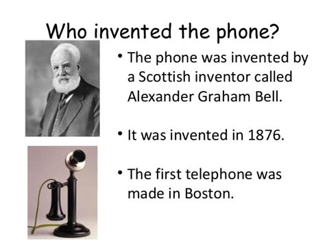 who invented phones inventions new