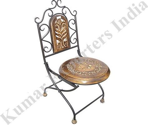 antique wrought iron folding chairs in new delhi delhi
