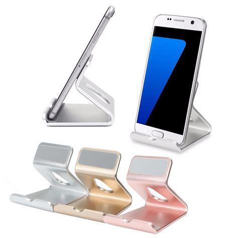 support iphone bureau universel portable de bureau en aluminium porte support
