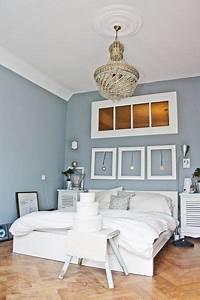 Grau Blaue Wand : zimmer einrichten wei e m bel ~ Watch28wear.com Haus und Dekorationen