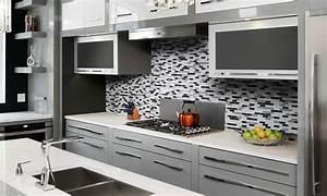 Adhesif Credence Cuisine : cr dence cuisine nouveaut rev tement mural adh sif aussi con u pour la salle de bain ~ Melissatoandfro.com Idées de Décoration