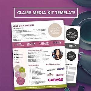 blogger media kit press kit template hipmediakits With press packet template