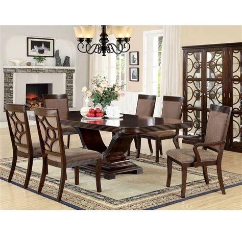 furniture  america foa woodmont cmt pc dining