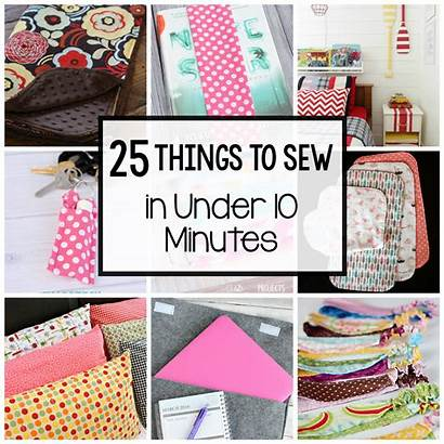 Sewing Sew Easy Projects Things Minutes Under