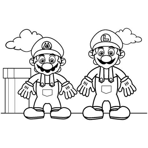 Kleurplaten Mario Bros by Leuk Voor Mario Bros 0005