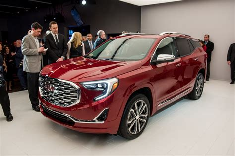 2018 gmc terrain info pictures release date gm authority