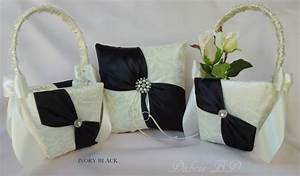 wedding ring bearer pillow and flower girl basket sets With wedding ring pillow sets