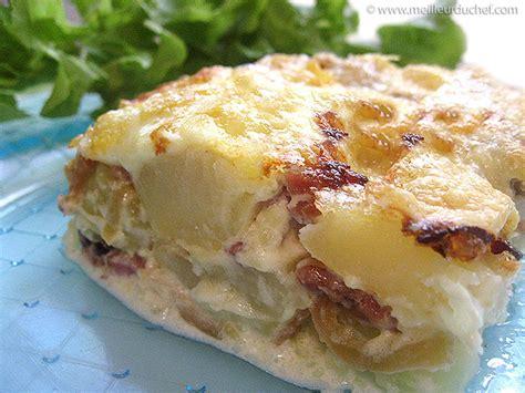 tartiflette cuisine az pyttipanna pour 4 personnes recette