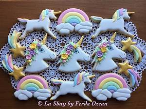 Unicorn Cookies - CakeCentral com