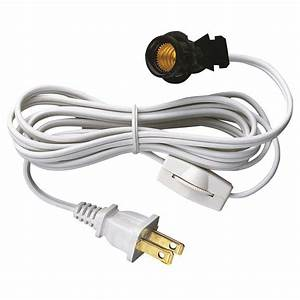 Westinghouse 6 ft Cord Set with Snap-In Pigtail