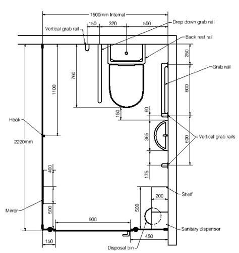 handicap restroom rails disabled toilet size images frompo 1