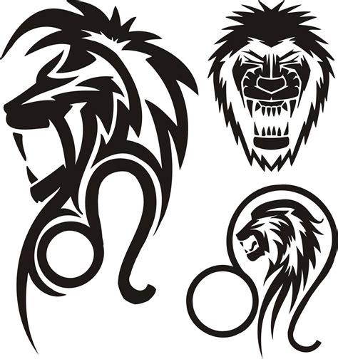 leo sign tattoos