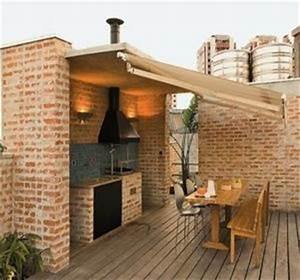 15 idees d39amenagement de cuisine d39ete habitatpresto With construction cuisine d ete exterieure