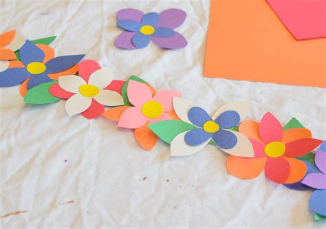 flower crown craft what can we do with paper and glue 790 | Flower Crown Spring Craft 13