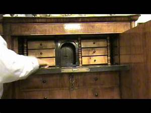 A furniture with hidden secret drawers - YouTube