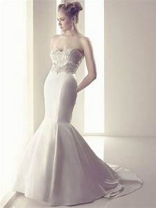 flattering mermaid wedding dresses modwedding With flattering wedding dresses
