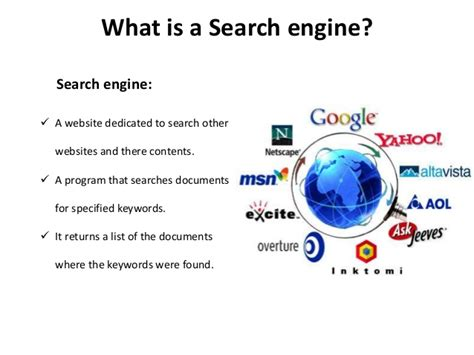 Explain Search Engine by How Search Engine Work
