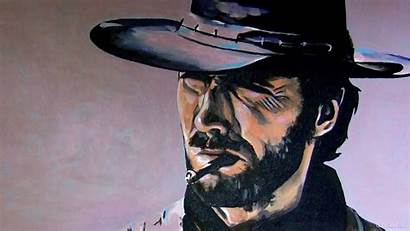 Clint Eastwood Smoking Wallpapers Movies Classic Smoke
