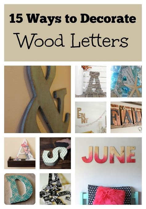 how to paint letters on wood 25 best ideas about decorate wooden letters on 10167