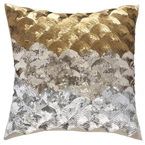 metallic gold throw pillows children s happy throw pillows sequins