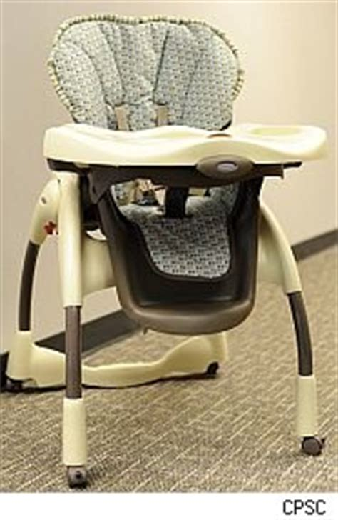 graco recalls more than 1 million high chairs after