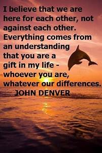65 best John De... John Denver Earth Quotes