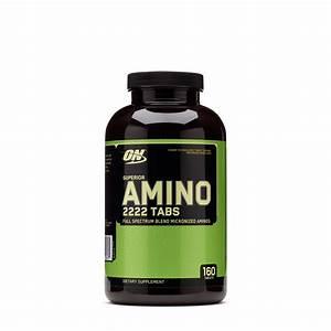 Optimum Nutrition Superior Amino 2222 Tabs 748927026474