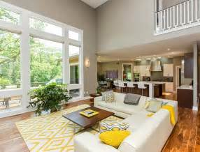 decorating livingrooms gray and yellow living rooms photos ideas and inspirations