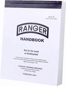 Official Us Ranger Handbook Army Booktraining Manual Guide