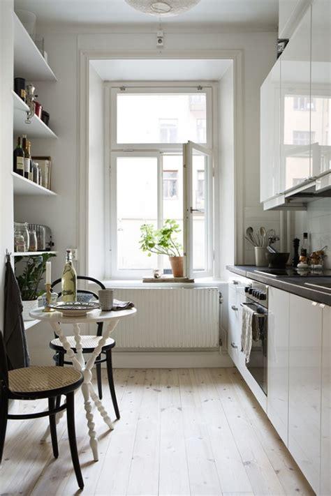 stylish  functional super narrow kitchen design ideas digsdigs