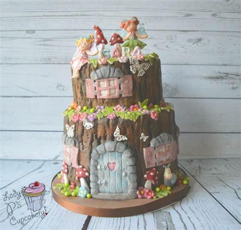fairy cake    tree stump  cakes