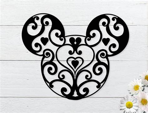 This free mandala svg file is one of our favorites! Mickey mandala svg Disney mandala svg for cricut   Etsy