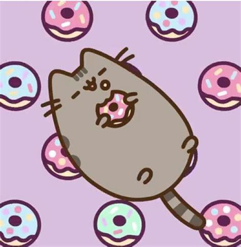 pusheen happy national donut day love silly pusheen