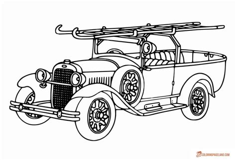 fire truck coloring pages  printable pictures  hd