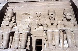 Temple of Abu Simbel, 13th cent. B.C.[22244000903]| 写真素材 ...