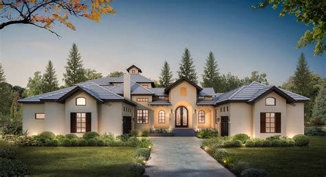 courtyard entry  bed house plan  upstairs game room ly architectural designs