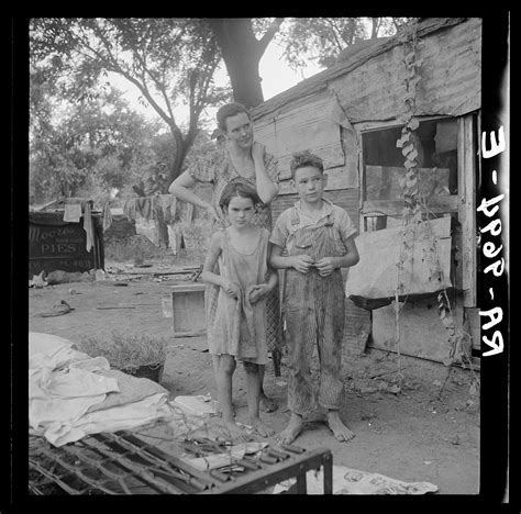 great depression americans   miserable poverty