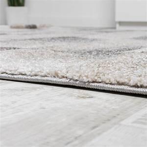 Teppich Grau Beige : teppich meliert modern webteppich klein kariert hochwertig in beige grau creme wohn und ~ Indierocktalk.com Haus und Dekorationen