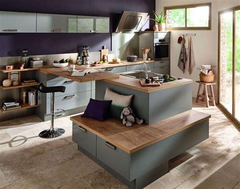 ilot cuisine conforama cuisine îlot central 12 photos de cuisinistes côté maison