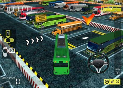 busman parking  game racingcargamescom