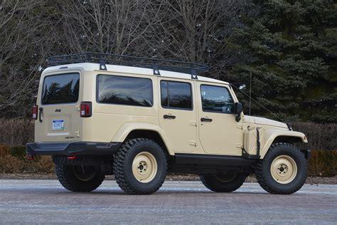 future jeep wrangler the jeep wrangler africa concept heads to safari in moab
