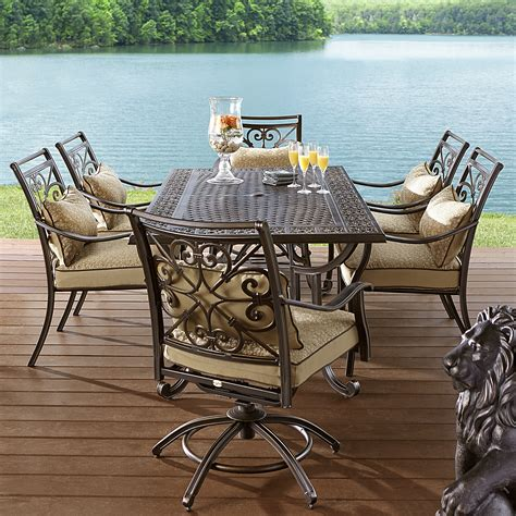 agio aas 14400 26215 fair oaks 7pc cast dining